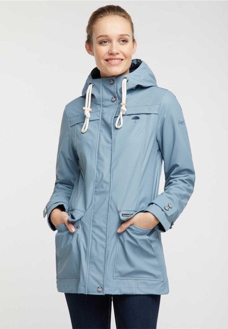 Shopping Online Wholesale Schmuddelwedda Parka - smoke blue   women's clothing 2020 PTcCF