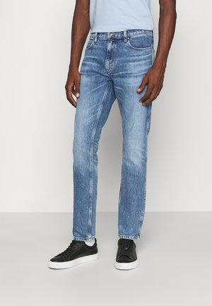 Džíny Straight Fit - bright blue