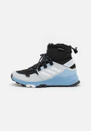 TERREX HIKSTER MID COLD.RDY - Trekingové boty - core black/footwear white/ambient sky