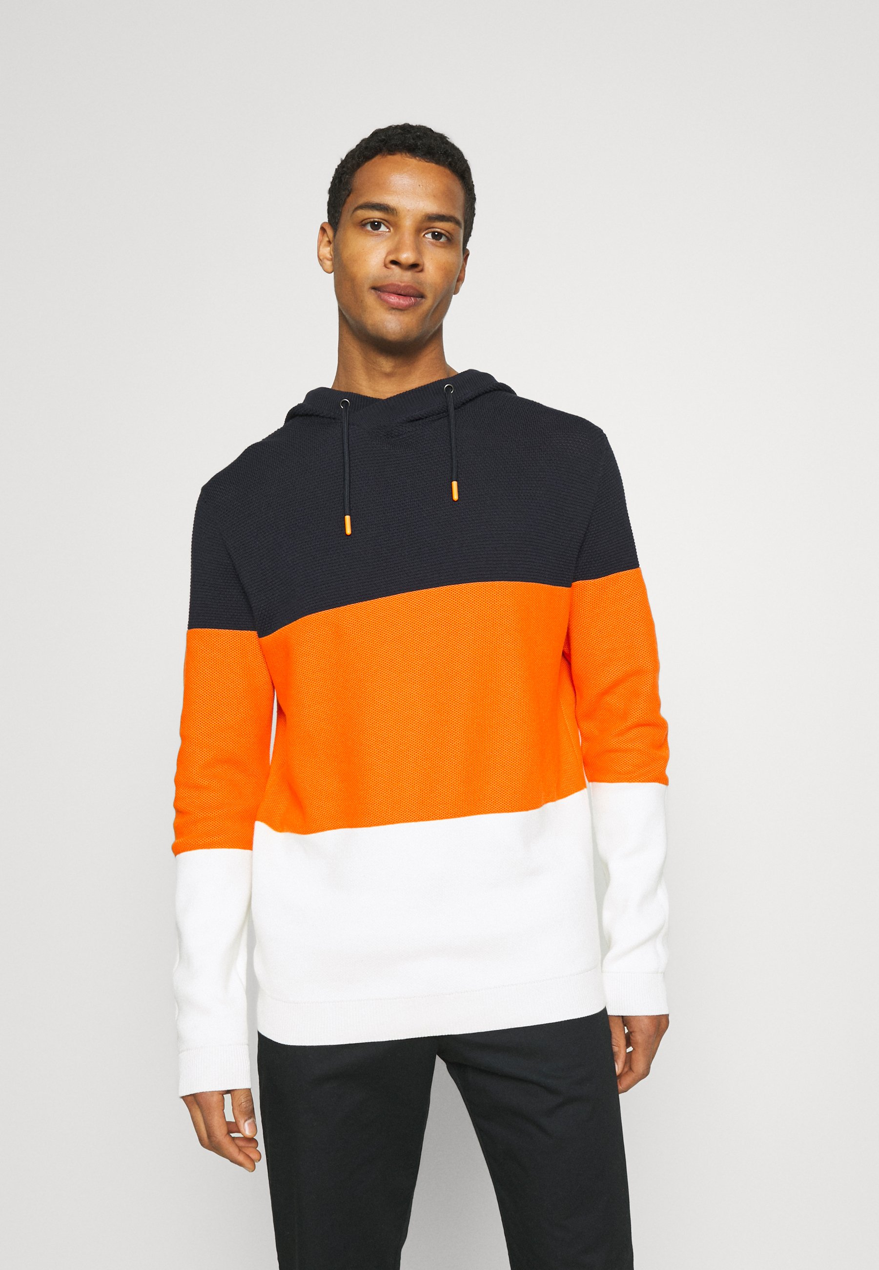 Homme HOOD - Sweat à capuche - bright orange