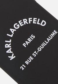 KARL LAGERFELD - RUE ST GUILLAUME IP11 - Telefoonhoesje - black - 2