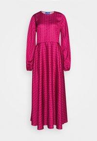 Cras - LAICRAS DRESS - Vapaa-ajan mekko - plum - 0
