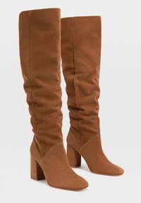 Stradivarius - High heeled boots - brown - 2