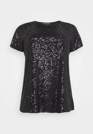 SEQUIN - T-shirts med print - black