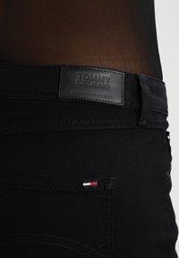 Tommy Jeans - SANDY  - Straight leg jeans - dana black - 4