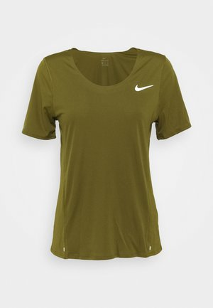CITY SLEEK - Print T-shirt - olive flak