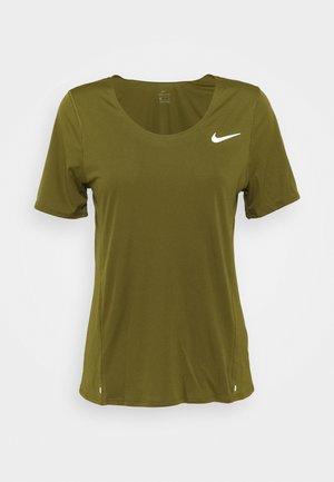 CITY SLEEK - Camiseta estampada - olive flak