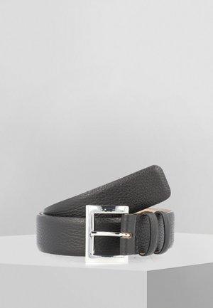 Belt - black/nickel