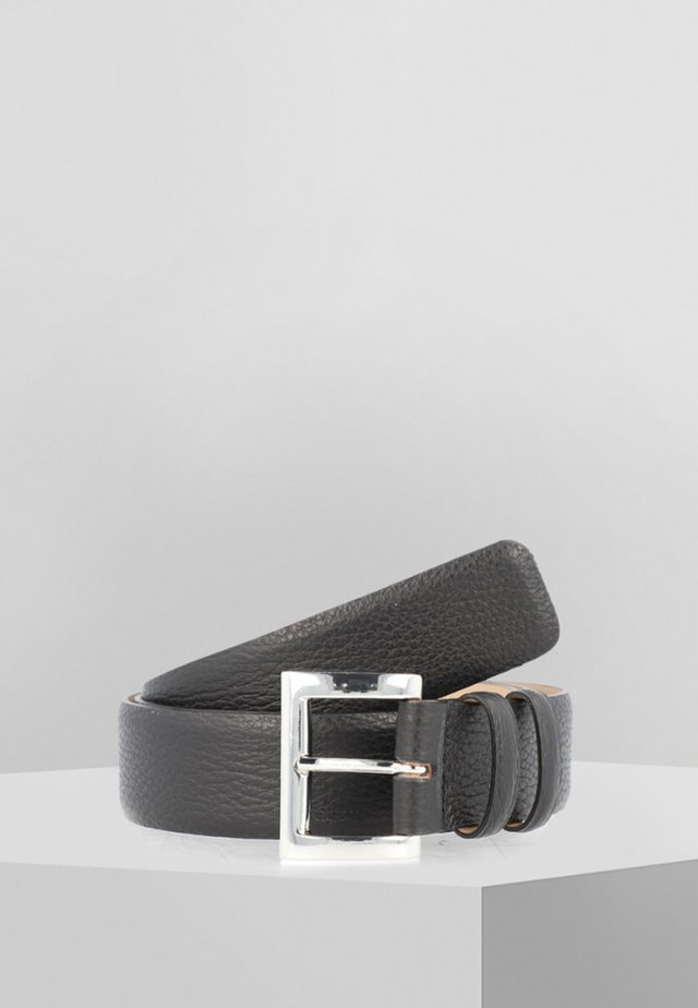 Belt - black/nickel