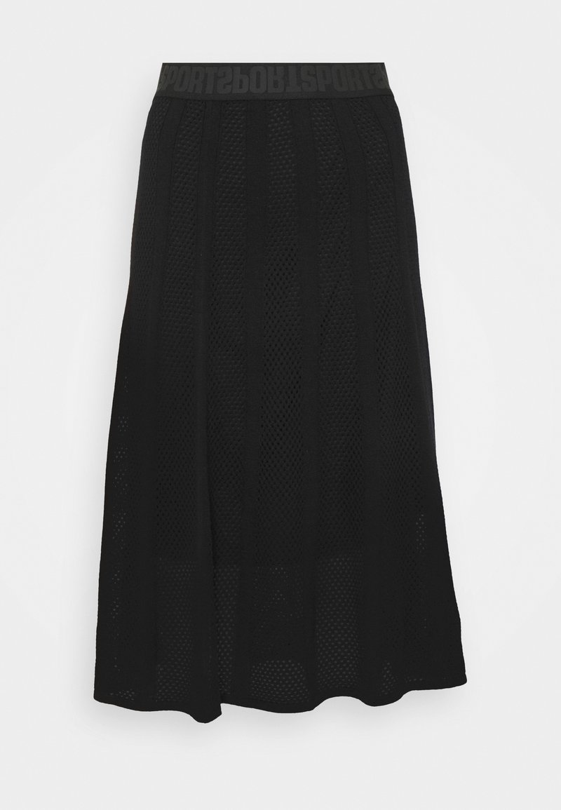 Marc Cain - A-line skirt - black