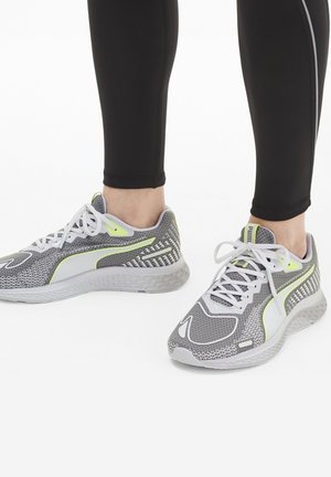 SPEED SUTAMINA 2 - Neutral running shoes - gray violet-white-yellow