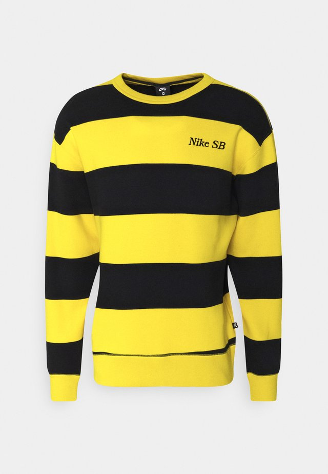 NOVELTY CREW UNISEX - Sweater - university gold/black