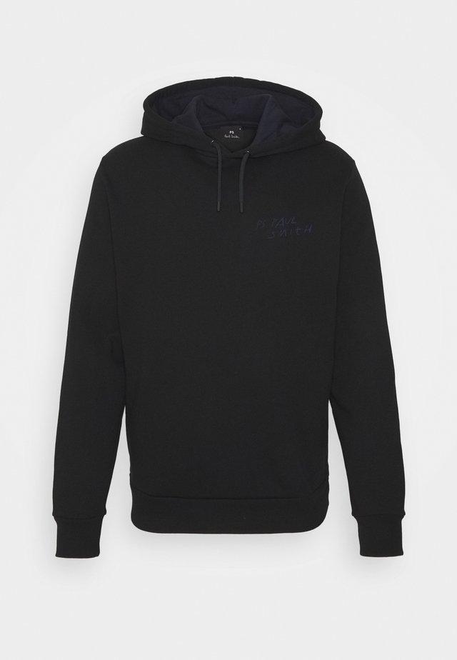 MENS HOODY CRAYONS UNISEX - Sweatshirt - black