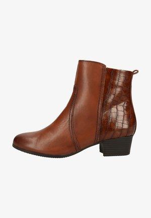 Ankle boots - cognac 305