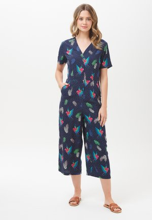JILLY PARADISE PARROT - Jumpsuit - blue