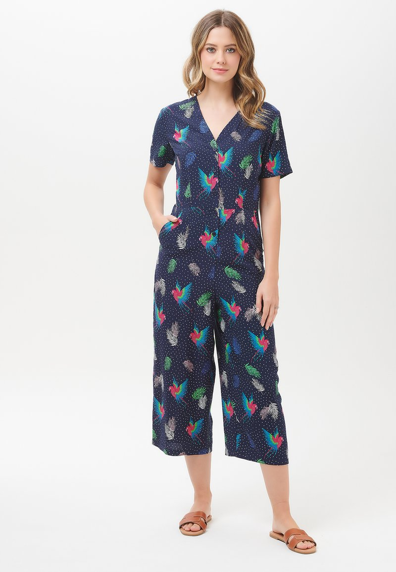 Sugarhill Brighton - JILLY PARADISE PARROT - Jumpsuit - blue