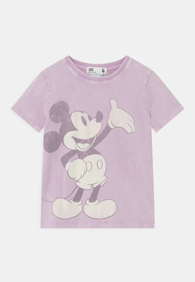 LICENSE SHORT SLEEVE - Print T-shirt - pale violet