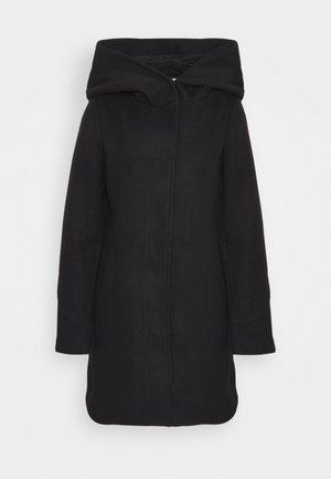 VICANA HOOD  - Cappotto corto - black
