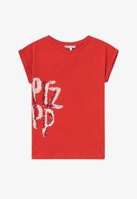 Patrizia Pepe - Camiseta estampada - red - 2