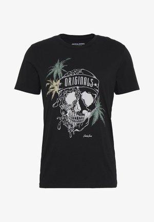 JORBONES - T-shirt z nadrukiem - black