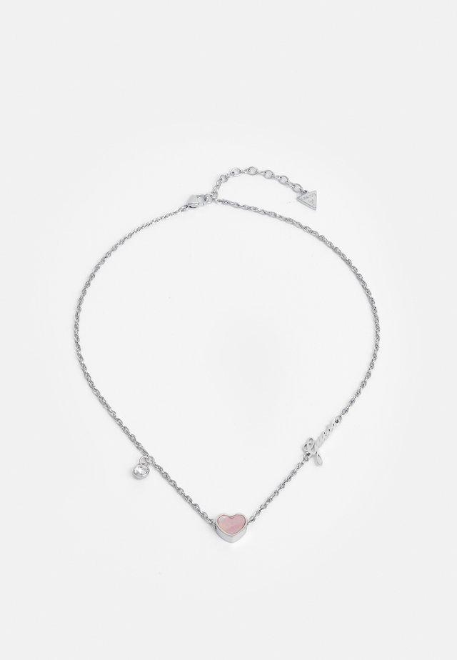 HEART - Collana - silver-coloured