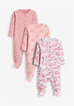 3 PACK - Dupačky na spaní - pink