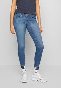 ONLY - ONLCORAL - Jeans Skinny Fit - medium blue denim - 0