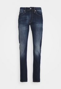 SLIM TAPER - Slim fit jeans - dark blue