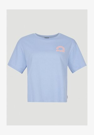 Print T-shirt - forever blue