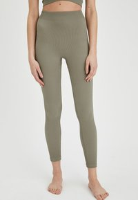 DeFacto - Leggings - Trousers - khaki - 0