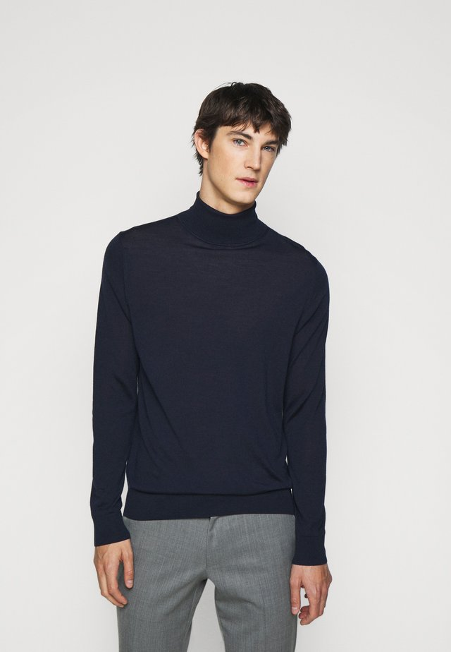 GENTS ROLL NECK - Svetr - dark blue