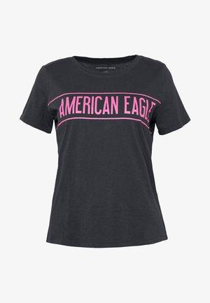 BRANDED HOT STORE TEE - Print T-shirt - black
