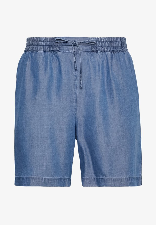 Shorts - medium blue denim