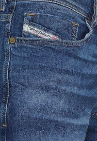 Diesel - SLEENKER - Jeans Skinny Fit - medium blue - 5