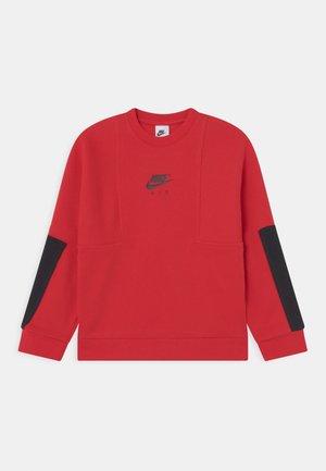 AIR CREW - Sweatshirt - university red/black