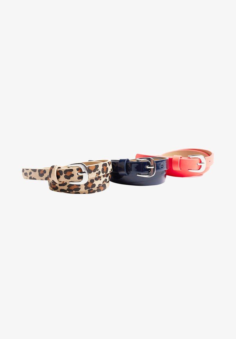 WE Fashion - 3-PACK - Belt - coral pink