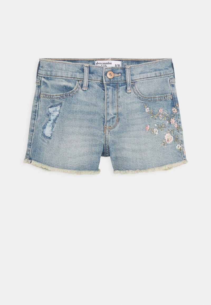 Abercrombie & Fitch - FASHION - Denim shorts - medium  wash