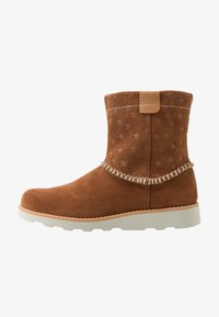 Clarks - CROWN PIPER - Classic ankle boots - tan - 1
