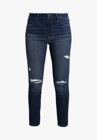 DESTROY - Jeans Skinny Fit - dark-blue denim