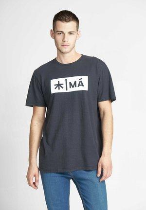 REGGIE - T-shirt print - dark navy