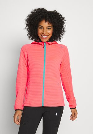 WOMAN JACKET FIX HOOD - Training jacket - gloss