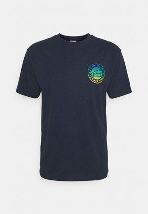 CIRCULAR GRAPHIC TEE - T-Shirt print - twilight navy