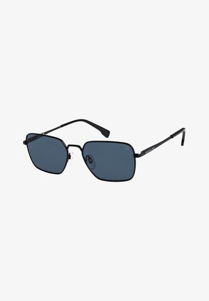 WIZARD - Sunglasses - matte black/grey polarized