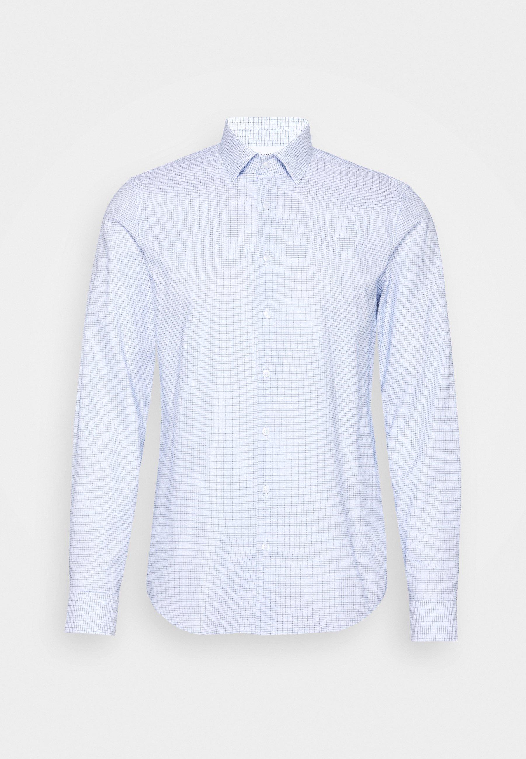 Men SMALL CHECK EASY CARE SLIM - Formal shirt