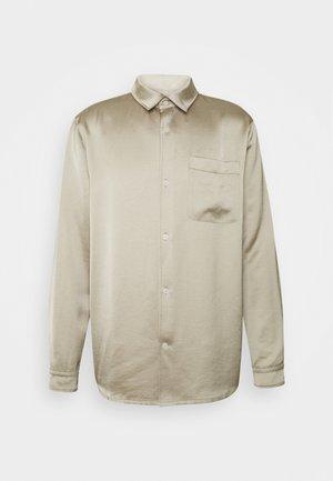 LARRY UNISEX  - Button-down blouse - beige