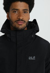 Jack Wolfskin - GOTLAND 2-IN-1  - Outdoorjacke - black - 5