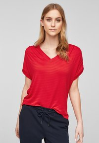 s.Oliver - Print T-shirt - red - 0