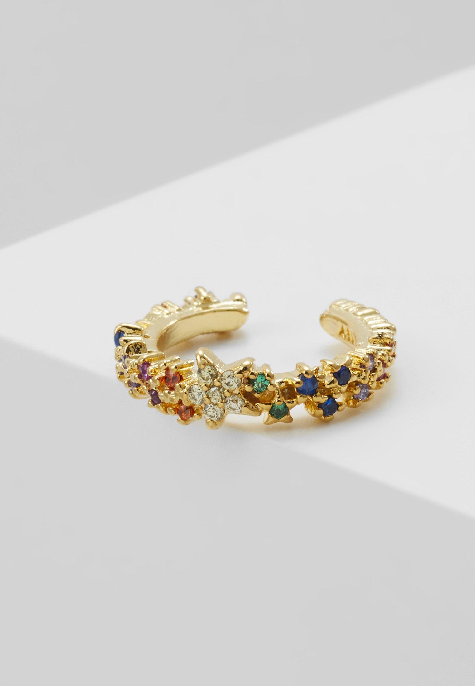 Nice Good Selling Accessories Astrid & Miyu RAINBOW STAR EAR CUFF Earrings gold-coloured MiTalMQLt YVOVdSA9C