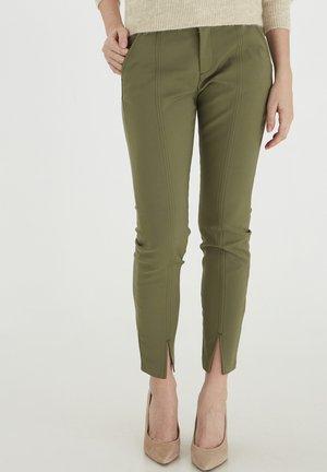 Pantalon classique - olive