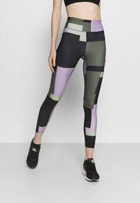 Casall - PRINTED SPORT  - Leggings - multi-coloured - 0